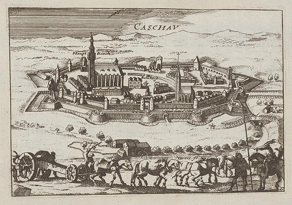 Stredoeurópsky grafik z 18. storočia – Košice