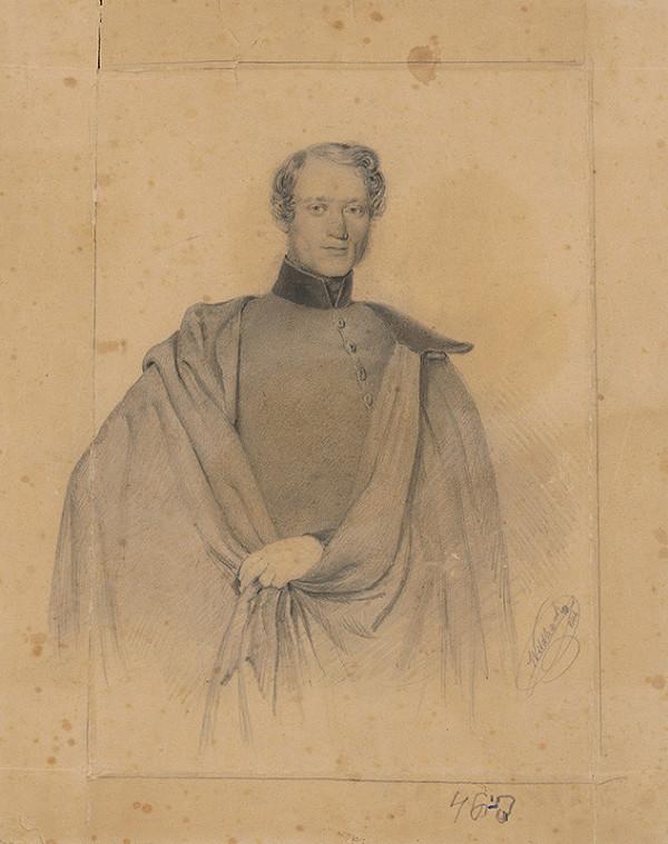 Josef Wildhack - Portrét neznámeho dôstojníka