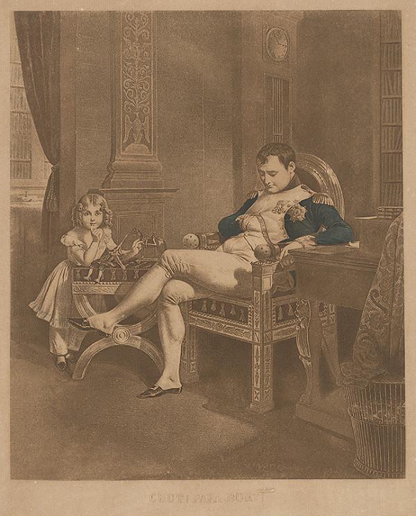 Stredoeurópsky grafik z 1. polovice 19. storočia - Napoleon