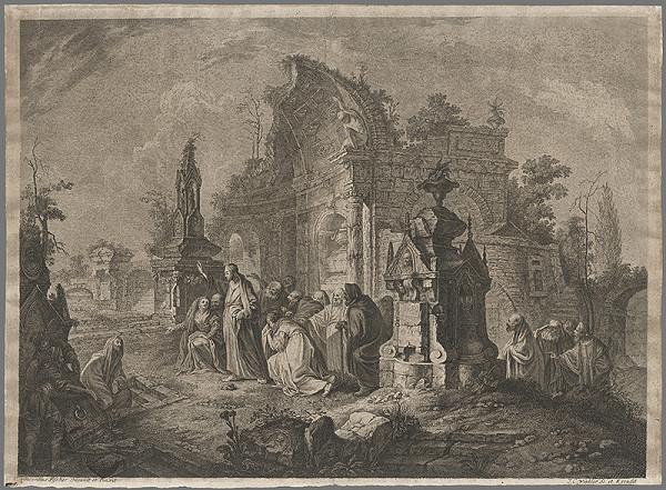 Johann Christoph Winkler, Vinzenz Fischer - Vzkriesenie Lazara