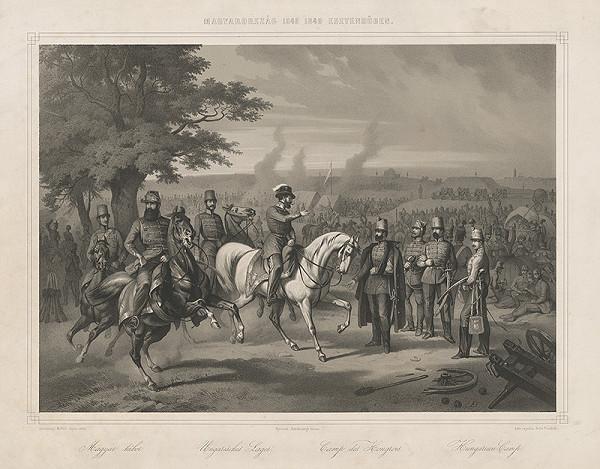 Friedrich Hohe, Miklós Szerelmey - Maďarský tábor v r. 1848-1849