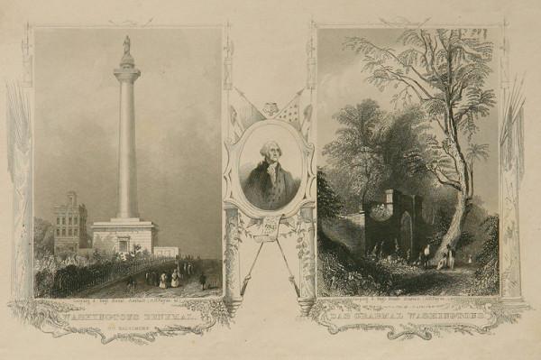 Albert Henry Payne - Pomník a hrob Washingtona