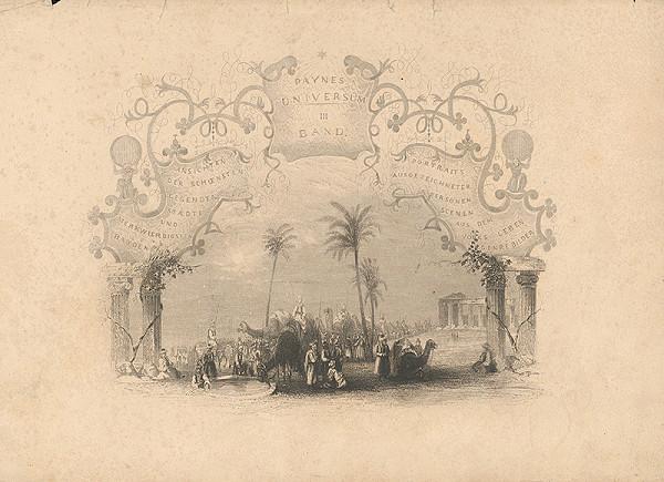 Albert Henry Payne - Titulný list III.zväzku vedút, portrétov
