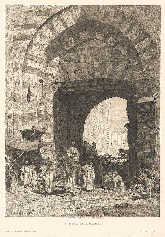 Karl Paul Themistocles von Eckenbrecher – Brána v Káhire