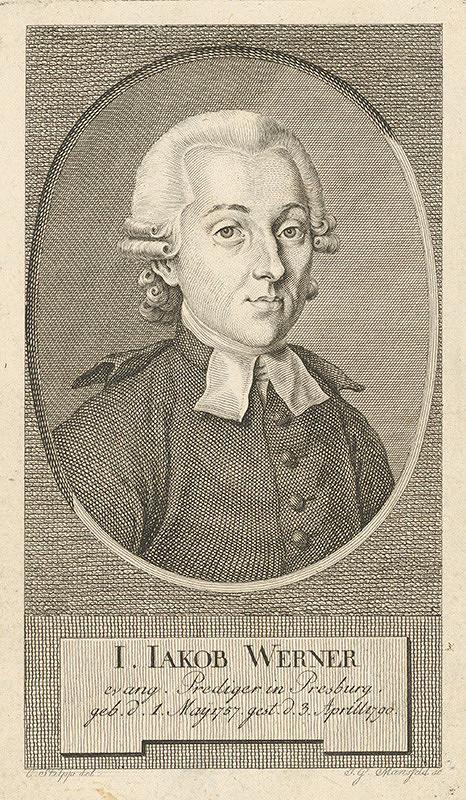 Sebastian Mansfeld, Stilpp - Podobizeň J.Jakoba Wernera