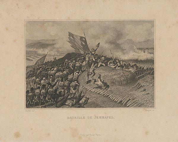 Jean Denis Nargeot, Auguste Raffet - Bitka pri Jemmapes