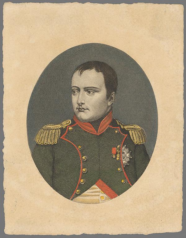 Stredoeurópsky grafik z 19. storočia - Napoleon Bonaparte