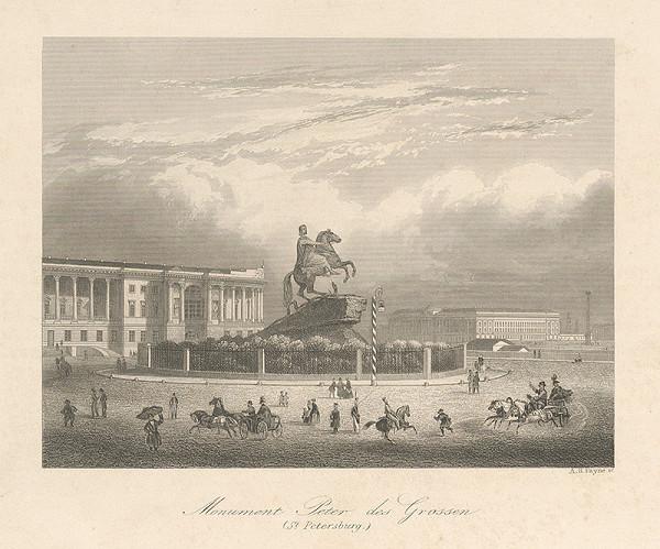 Albert Henry Payne - Pomník Petra Veľkého