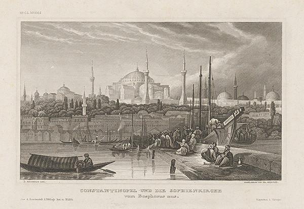 Friedrich Geissler, D. Ralterts – Pohľad na Konstantinopol
