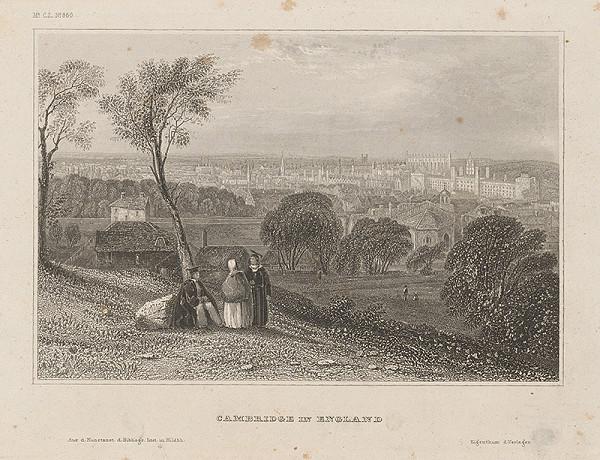 Stredoeurópsky grafik z 19. storočia - Cambridge v Anglii