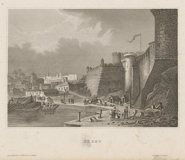 Stredoeurópsky grafik z 19. storočia - Brest