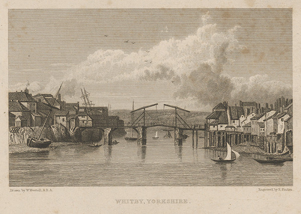 Edward Finden, William Westall - Whitby,Yorkshire