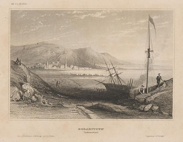 Stredoeurópsky grafik z 19. storočia - Hobarttown
