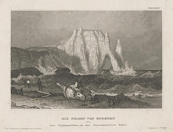 Stredoeurópsky grafik z 19. storočia - Neptúnova brána