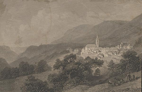 Stredoeurópsky grafik z 19. storočia - Kaltern
