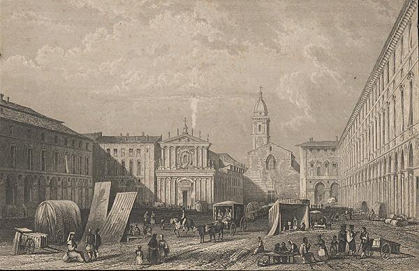 Stredoeurópsky grafik z 19. storočia - Turín