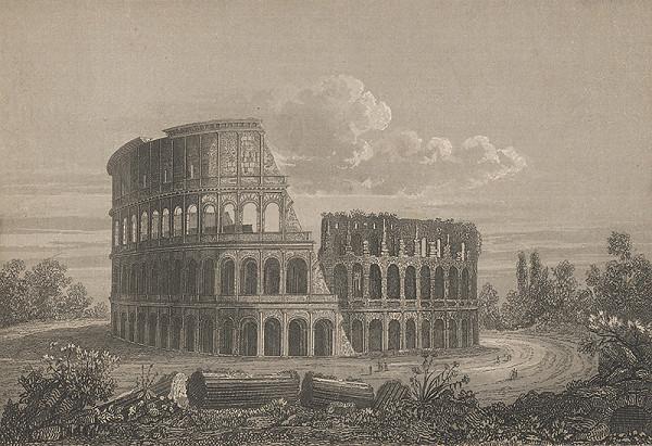 Stredoeurópsky grafik z 19. storočia - Koloseum