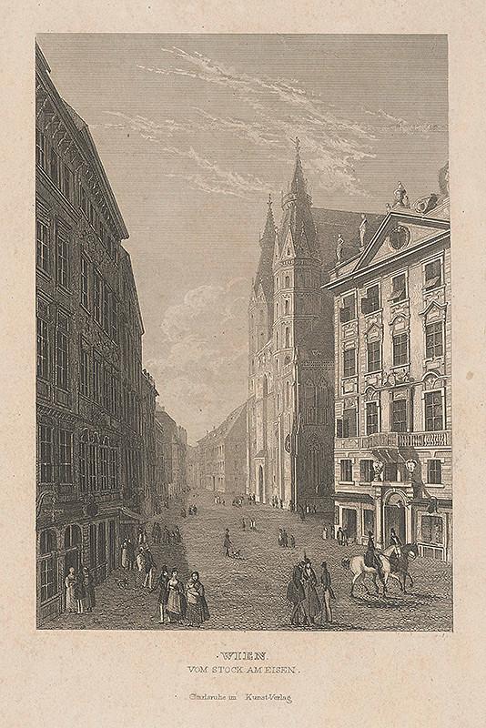 Stredoeurópsky grafik z 19. storočia - Viedeň