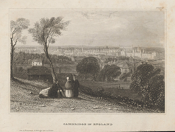 Stredoeurópsky grafik z 19. storočia - Cambridge