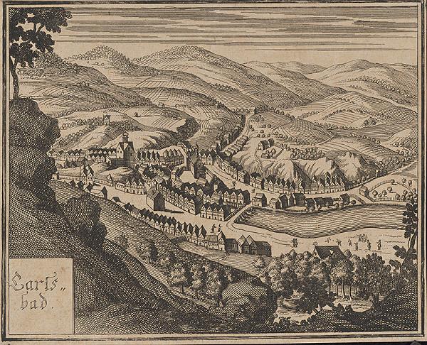 Stredoeurópsky autor z 18. storočia – Karlove Vary
