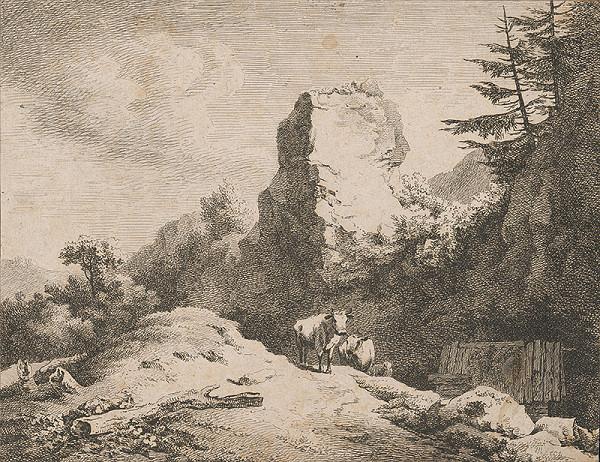 Stredoeurópsky autor z 18. storočia – Krajina