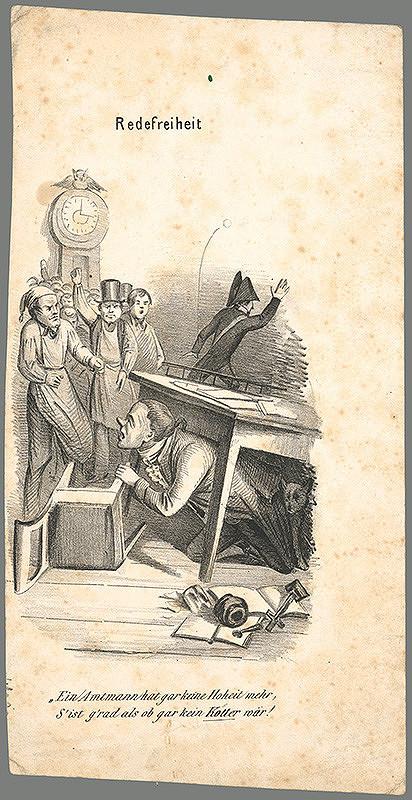 Stredoeurópsky autor z 18. - 19. storočia – Sloboda prejavu