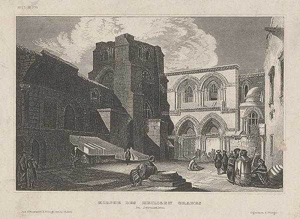 Stredoeurópsky autor z konca 2. polovice 19. storočia - Chrám Božieho hrobu v Jeruzaleme