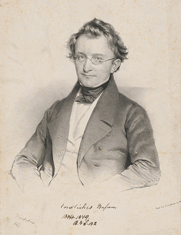 Joseph Kriehuber – Portrét Štefana Endlichera
