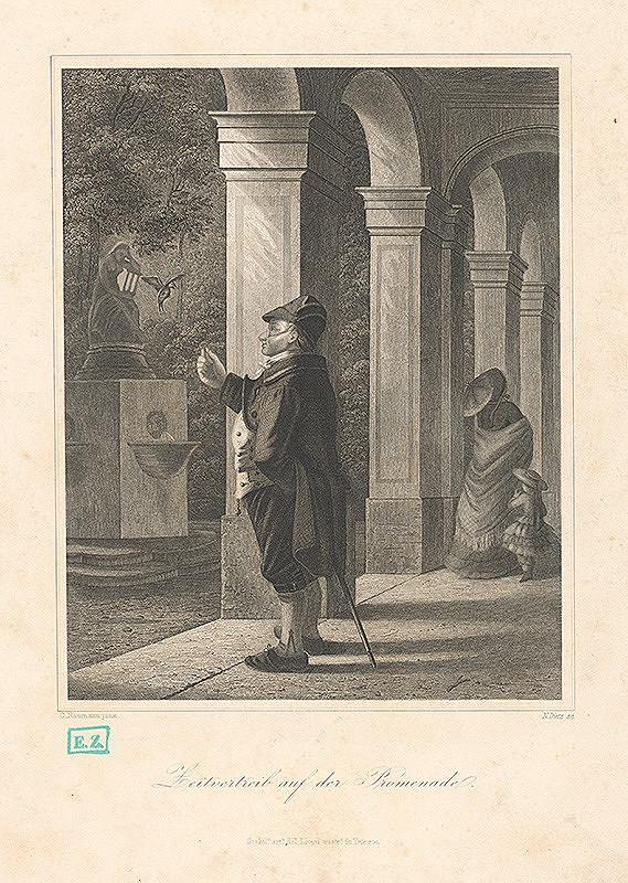 N. Dietz, Carl Friedrich Naumann – Čas na promenáde