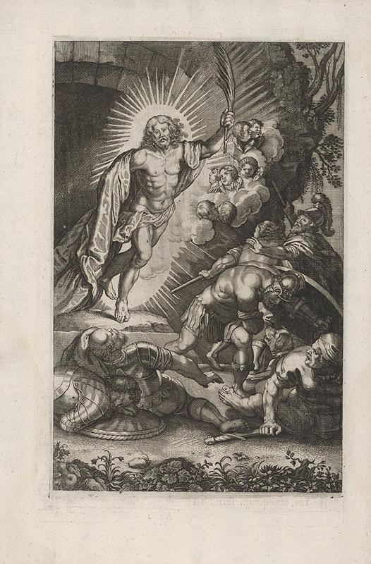 Stredoeurópsky grafik zo 17. storočia - Vzkriesenie