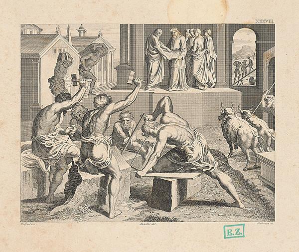 Raffael, Wilhelm Kandler – Stavitelia chrámu pred Šalamúnom