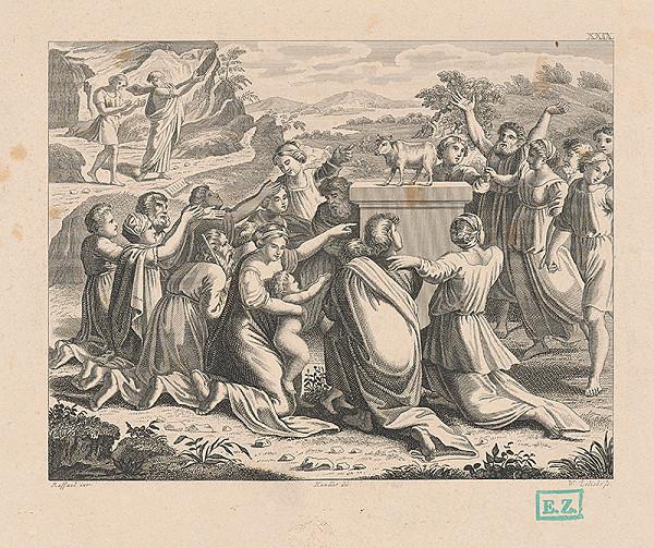 Vendelín Želísko, Raffael, Wilhelm Kandler – Klananie sa zlatému teľaťu