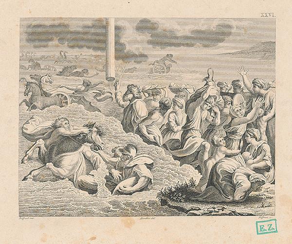 Hoffman, Raffael, Wilhelm Kandler – Mojžiš vedie židovský národ cez Červené more