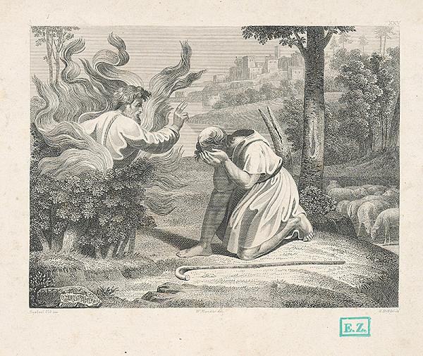 Jiří Döbler, Raffael, Wilhelm Kandler – Boh sa zjavuje Mojžišovi v horiacom kri
