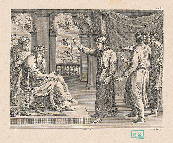 Josef Steinmüller, Raffael, Wilhelm Kandler - Jozef vysvetľuje sen faraónovi