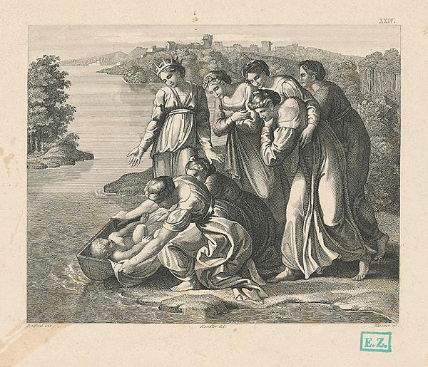 Wiesner, Raffael, Wilhelm Kandler – Nájdenie Mojžiša