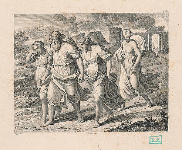 Josef Steinmüller, Raffael, Wilhelm Kandler – Odchod Lótovej rodiny zo Sodomy