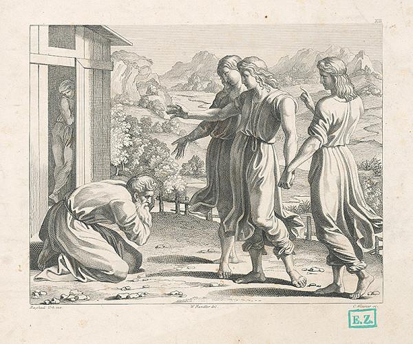 Konrád Wiesner, Raffael, Wilhelm Kandler - Anjeli na návšteve u Lóta