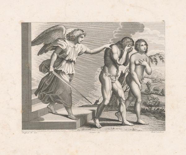 Vendelín Želísko, Raffael, Wilhelm Kandler – Vyhnanie z raja