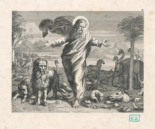 Wiesner, Raffael, Wilhelm Kandler – Stvorenie živočíchov