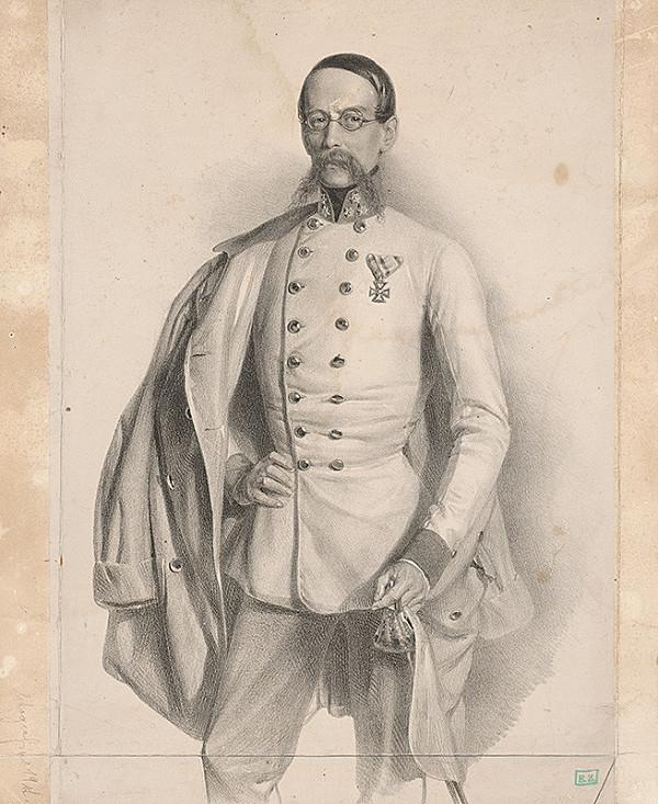 Fritz Kriehuber - Portrét dôstojníka