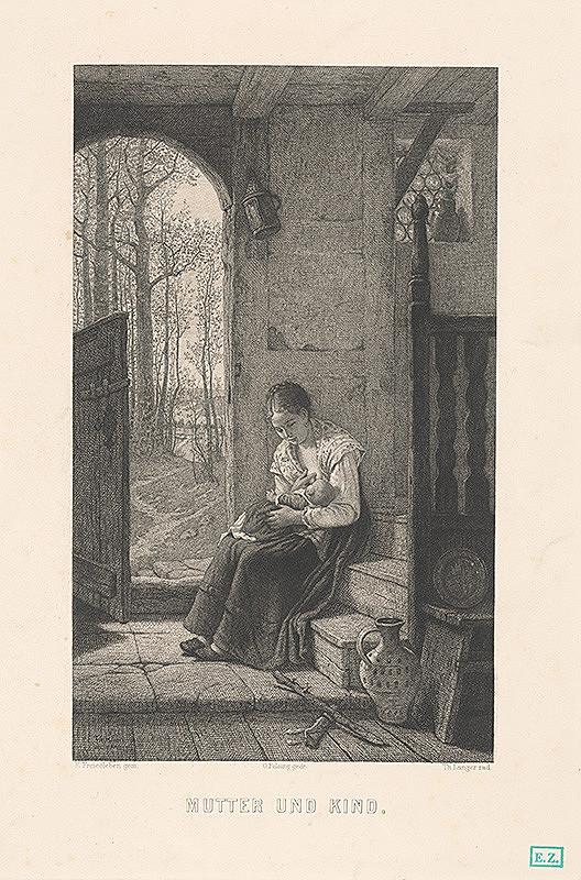 Theodor Langer, E. Freisleben - Matka a dieťa