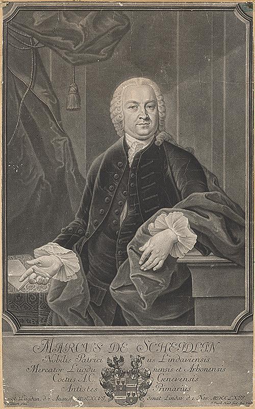 H. Kleinert, Johann Jacob Haid – Portrét Marka de Scheidlina