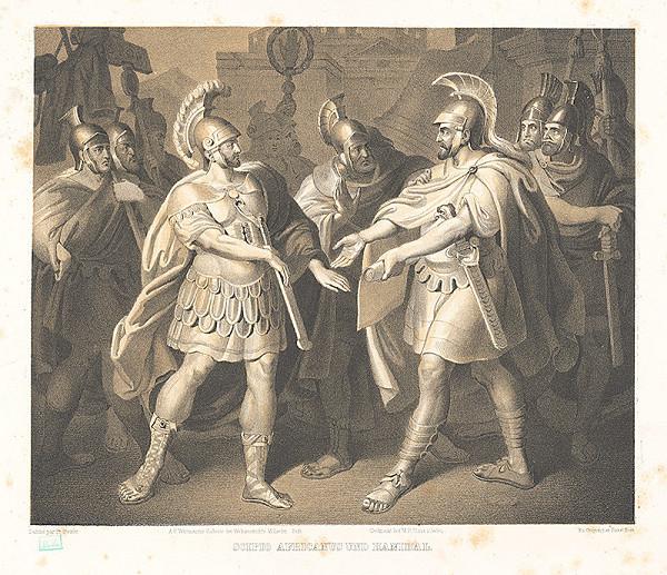 Fr. Steiner, Matthias Rudolf Toma, Faustin Herr - Scipio Africanus a Hanibal