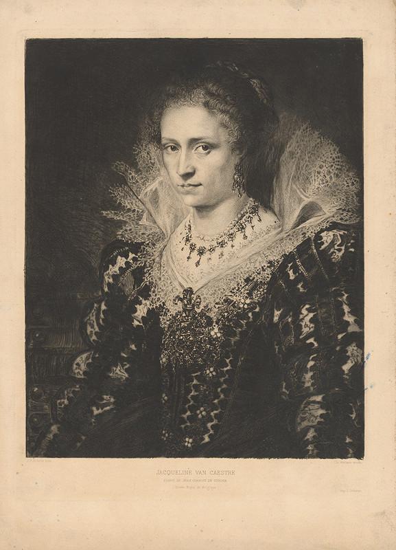 Charles Albert Waltner, Peter Paul Rubens - Jacqueline van Caestre