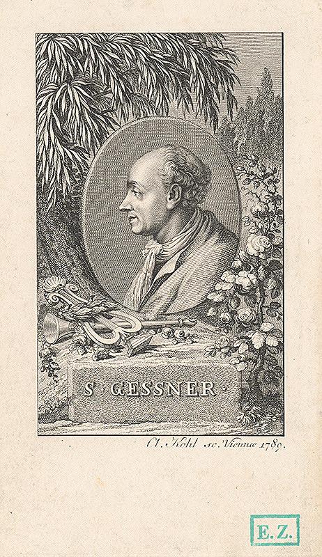 A. Kohl – Gessner portrétovaný vo Viedni