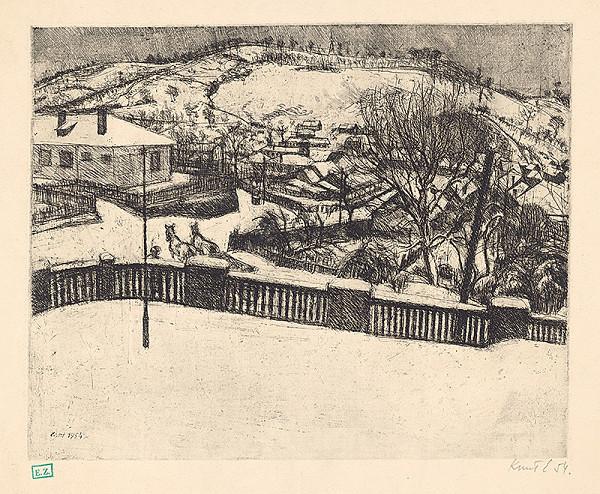 Ernö Kunt – Dedina v zime