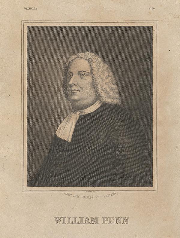 Gottfried Kneller, Fritz Kühner - Portrét Wiliama Penna