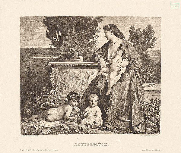 Anselm Feuerbach, Wilhelm Krauskopf – Materské šťastie