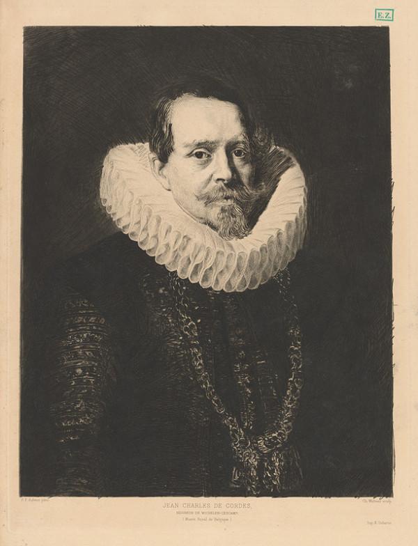 Charles Albert Waltner, Peter Paul Rubens - Portrét Jeana Charlesa de Cordesa